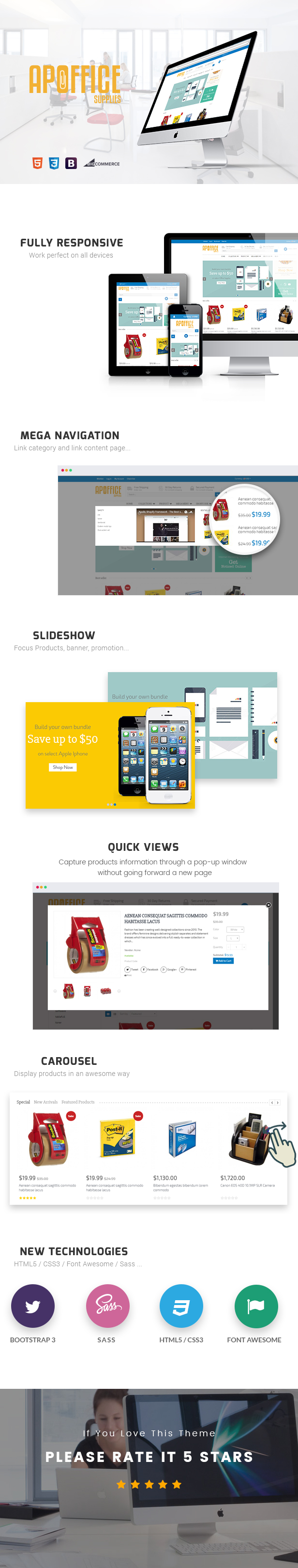 Ap Office BigCommerce Theme