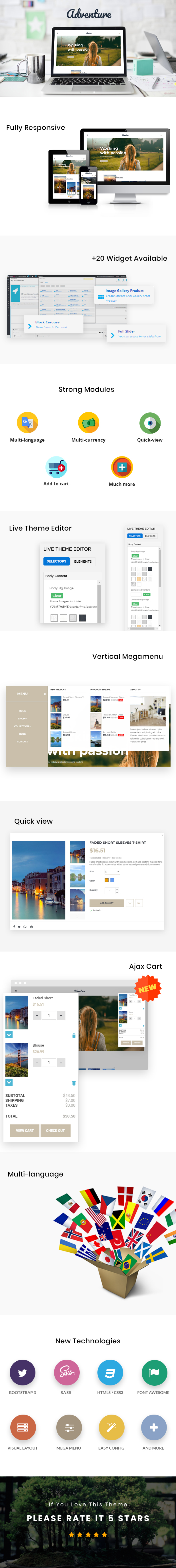 Ap Adventure Prestashop Theme