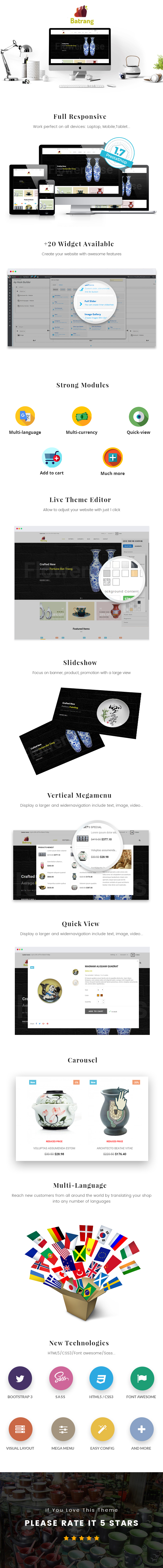Ap Batrang Prestashop Theme