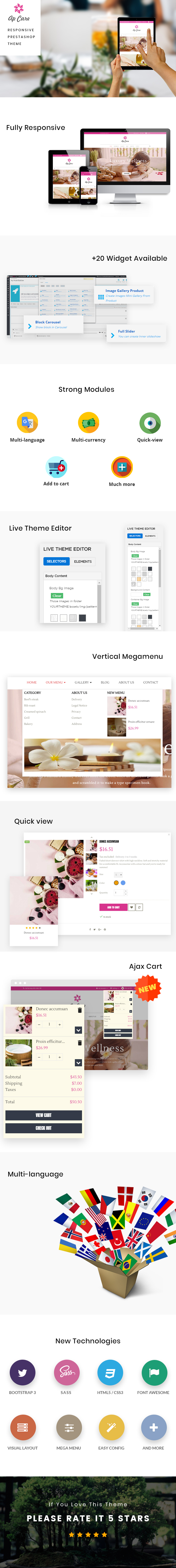Ap Care Prestashop Theme