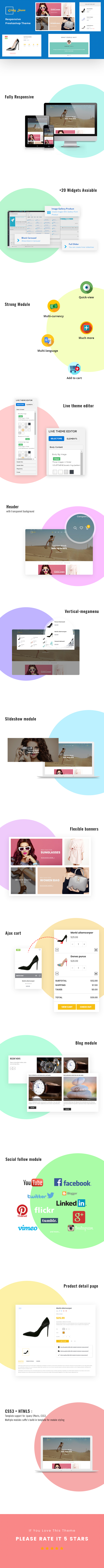 Ap Girly Store Prestashop Theme