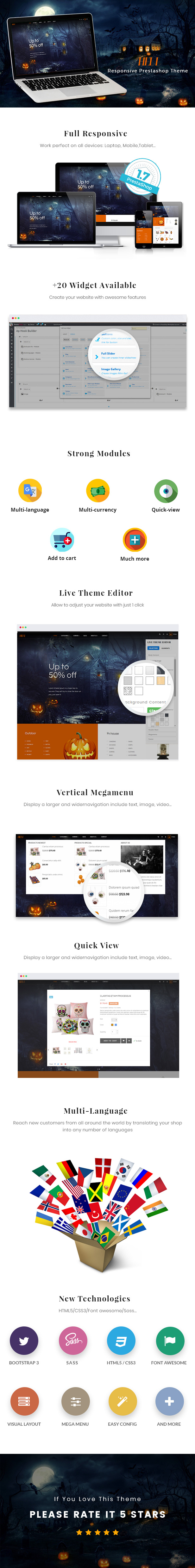 Ap Hell Prestashop Theme