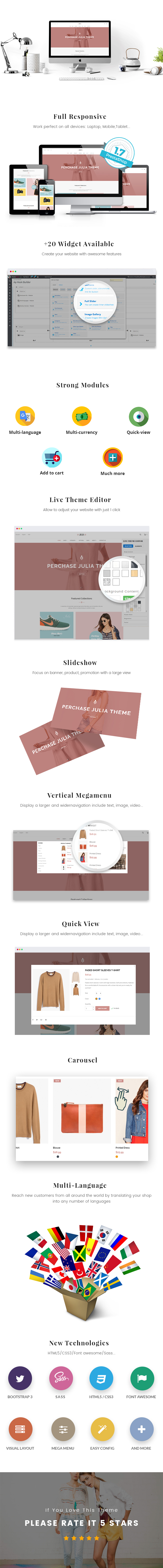 At Julia Fashion Prestashop Theme