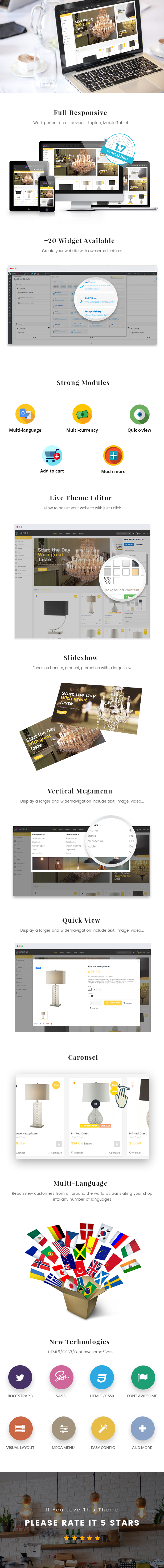 Ap Lighting Prestashop Theme