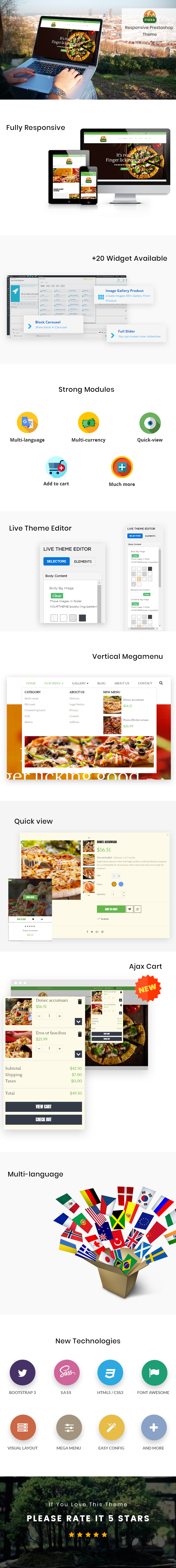 Ap Pizza Prestashop Theme