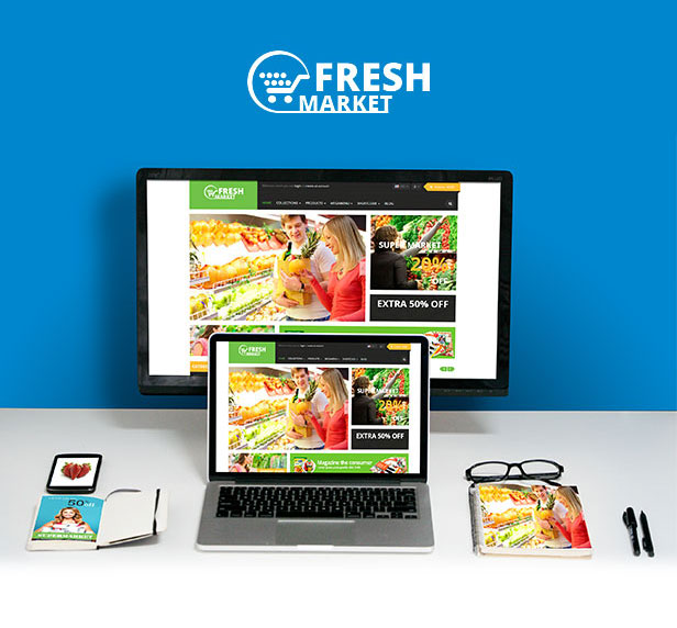 Shopify themes for Fresh Store