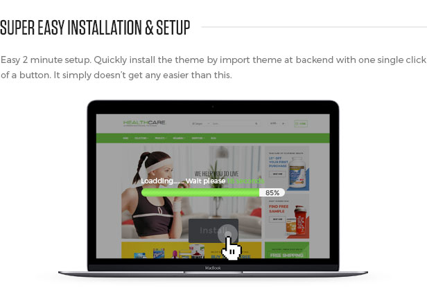 Install Shopify Themes