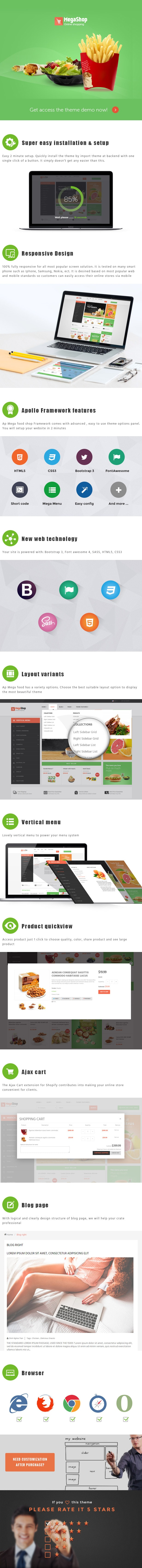AP Mega Food Shopify Theme