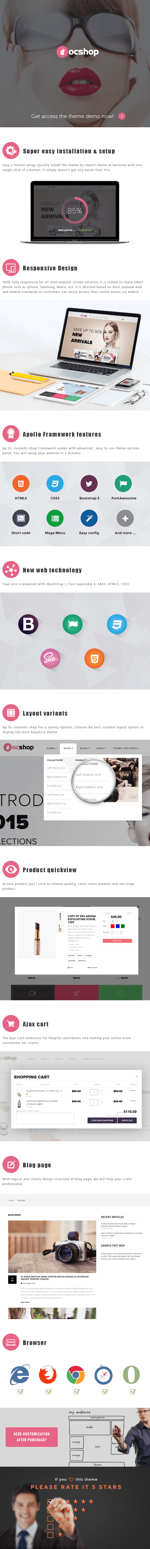 Cosmetic Shopify  Theme