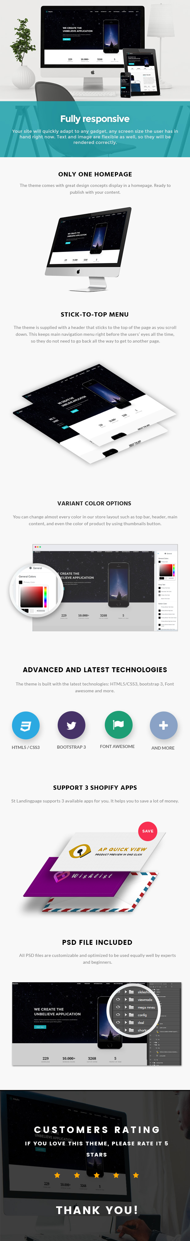 Ap Landing Mobile Shopify Theme