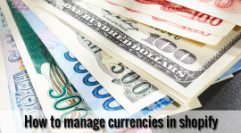 manage currencies in shopify theme
