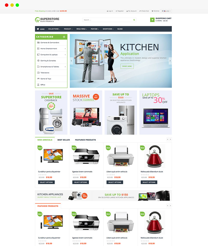 electronic shopify themes