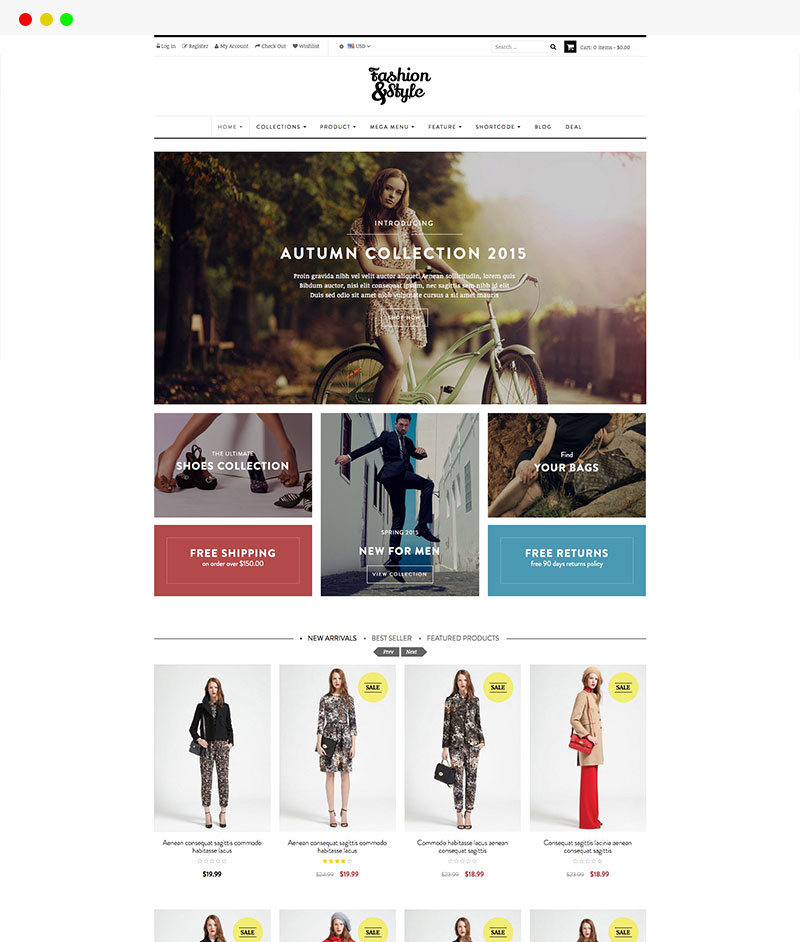 fashion store shopify themes