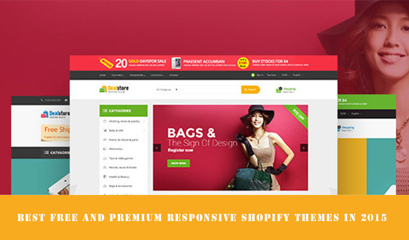 Best free shopify templates and premium responsive shopify for Free shopify templates