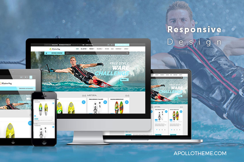 free windsurfing shopify theme