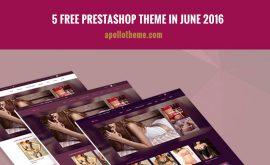 5 free prestashop theme