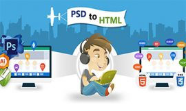 convert psd to html theme