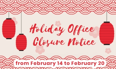 Holiday Office Closure Notice
