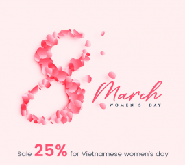 apollotheme discount on women day