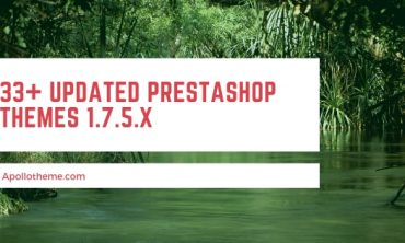 33+ Updated Prestashop themes 1.7.5