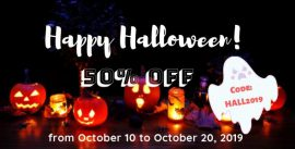 halloween sale countdown