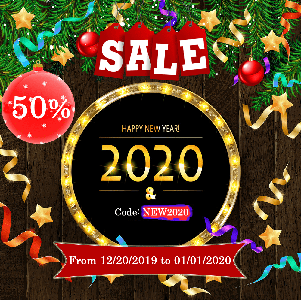 New Years Sale 2020