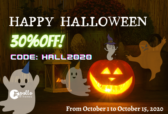 Sale for Halloween 2020