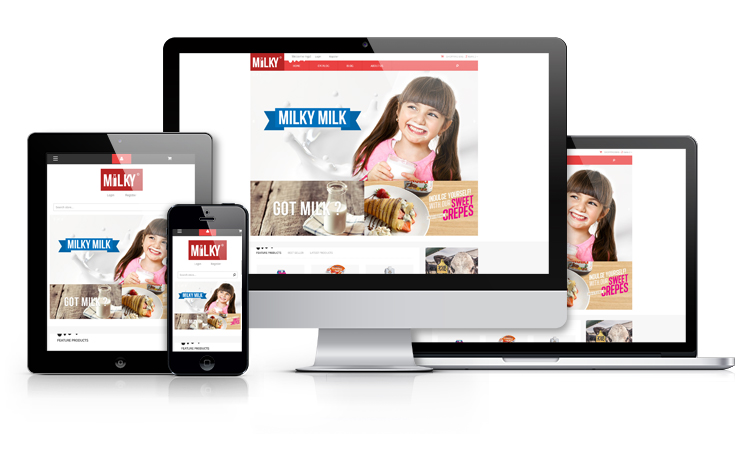 Ap milky shopify theme responsive shopify template free ap milky shopify theme pronofoot35fo Image collections