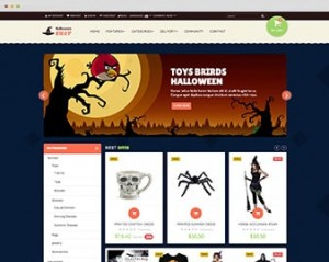 Ap Halloween Prestashop Theme for Event & Gift