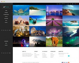 tourism prestashop theme