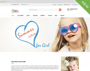 Kid store prestashop theme