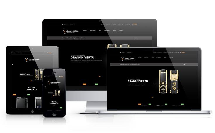Ap luxury mobile shopify theme
