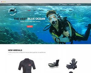 Ap Diving Store Prestashop Theme