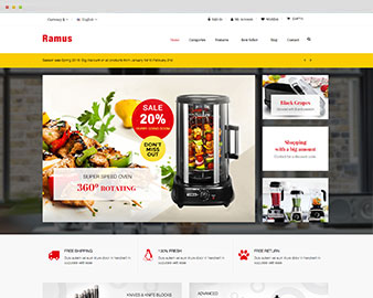 Ap Kitchenware Prestashop Theme
