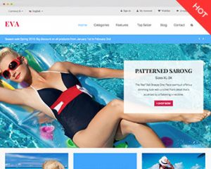 Ap Eva Swimming Prestashop Theme