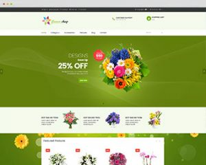Flower Shop Prestashop
