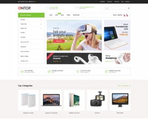 Ap Ontop - The best shopify theme for hi-tech, food, electronics
