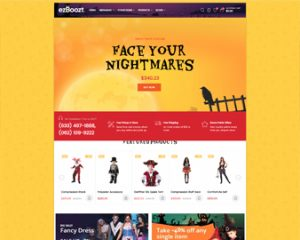 free Ap Halloween costumes, decorations, fashion, gift shopify theme