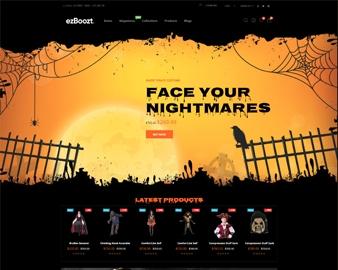 free Ap Halloween Decorations, Skeletons shopify theme