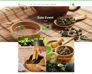 Ap Lotus Tea & Drink Prestashop Theme - preview