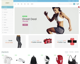 Ap Sporty Amazing Fashion Trend Prestashop Sport Theme - Clean & Clear layout