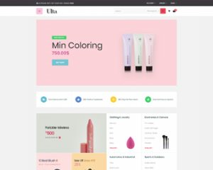 Ap Ulta Premium Beauty & Cosmetics Prestashop Skin Care Themes - Cosmetics & beauty