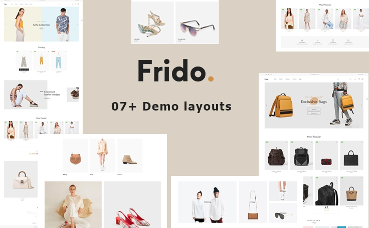 Ap Frido Best Fashion Boutique Shopify Theme - Bags & Shoes