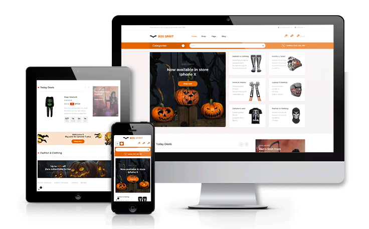 Ap Bosspirit Prestashop Halloween Themed Gifts - Accessories store