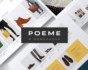 Ap Poeme - Elegant & Professional Multipurpose E-Commerce Shopify Theme - preview