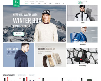Ap Little Monster Sport Shop E-Commerce Prestashop Fashion Theme - preview