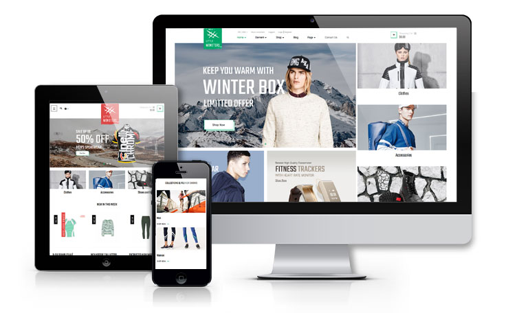 Ap Little Monster Sport Shop E-Commerce Prestashop Fashion Theme - fully responsive