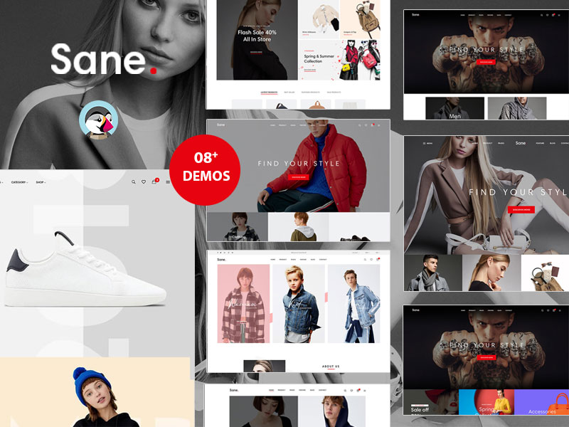 Ap Sane Multi-vendor Prestashop Theme - Fashion & Shoes