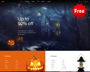 Ap Hell Free Prestashop Themes for Halloween & Gifts