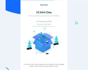 Fuho- Advanced PrestaShop Email Template